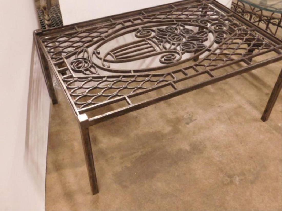 Wrought Iron Coffee Table - 3