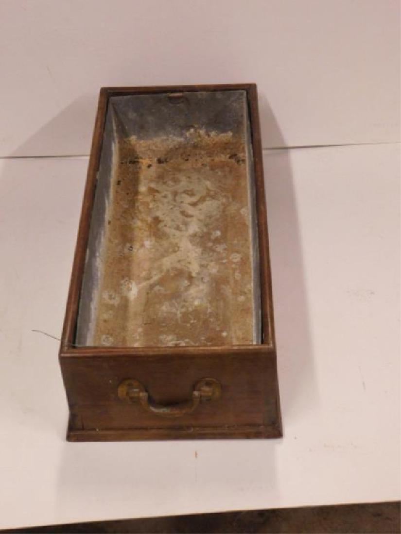 19th C. Mahogany Plant Box - 2