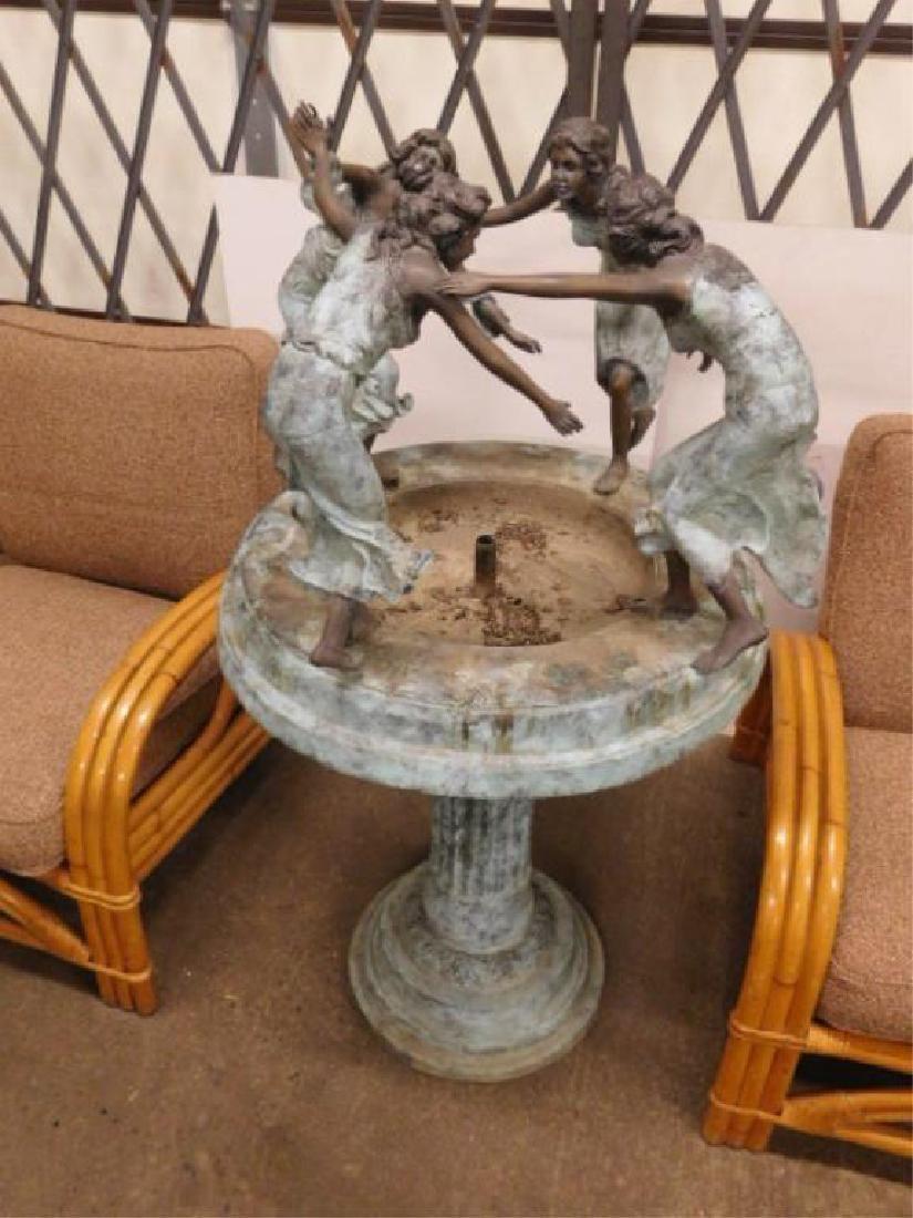 Bronze Garden Fountain
