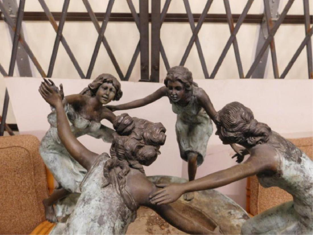 Bronze Garden Fountain - 4