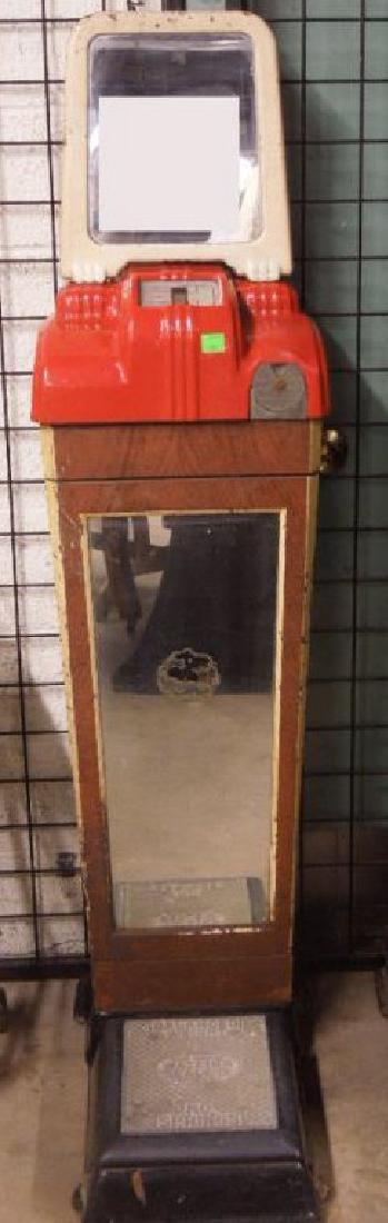 Art Deco Penny Scale