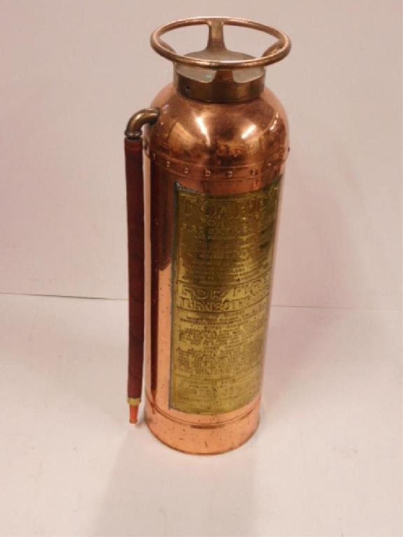 Foamex Copper Fire Extinguisher