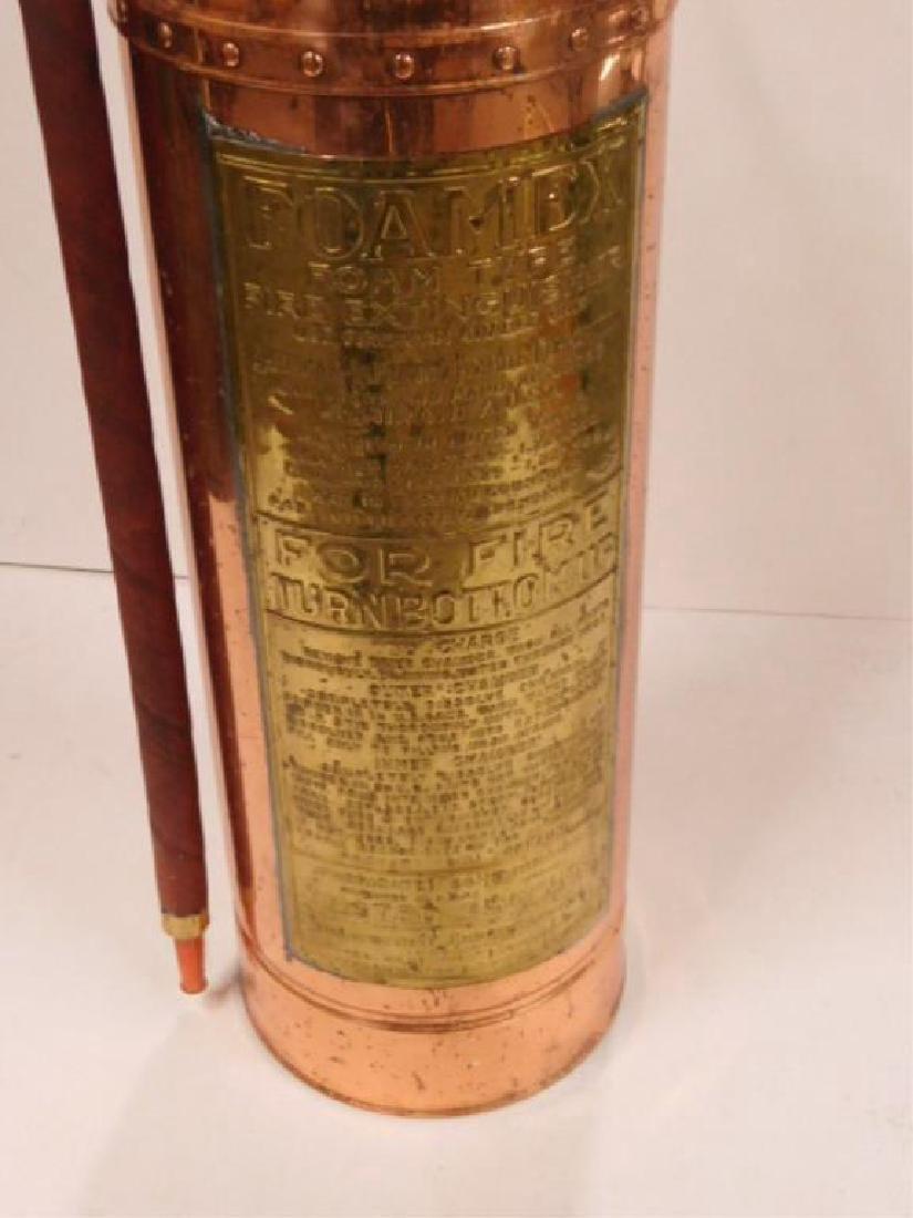 Foamex Copper Fire Extinguisher - 2