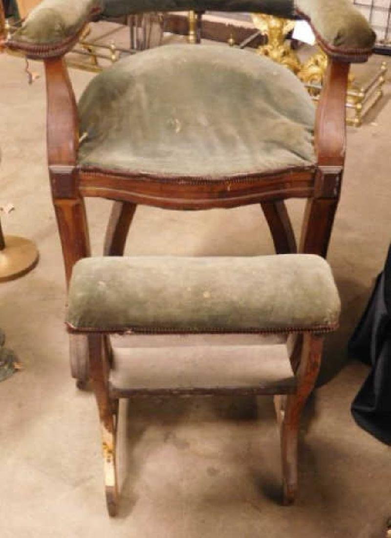 Victorian Barber's Chair - 2