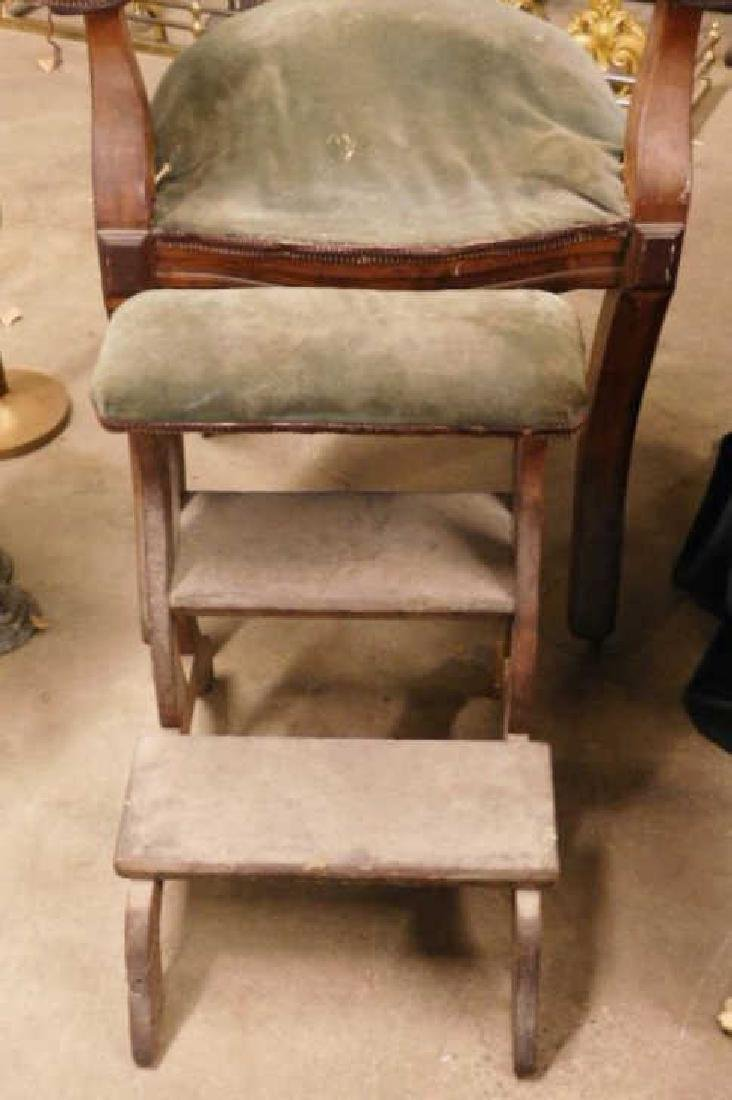 Victorian Barber's Chair - 3