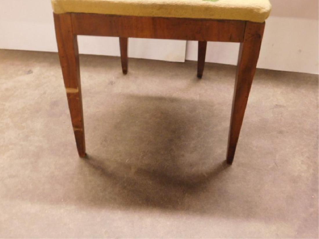 Antique Biedermeier Walnut Side Chair - 3