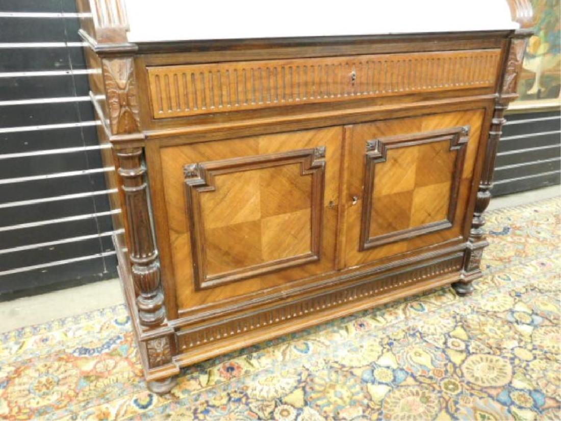 Louis XVI Style Parquetry Dresser, 19th C. - 2