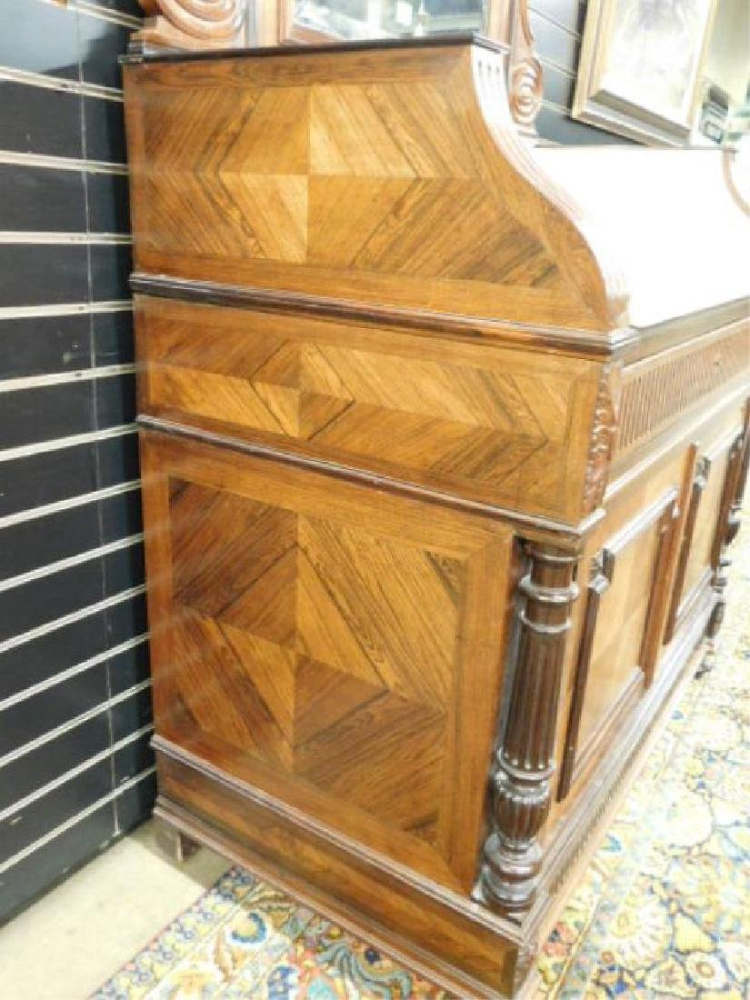 Louis XVI Style Parquetry Dresser, 19th C. - 3