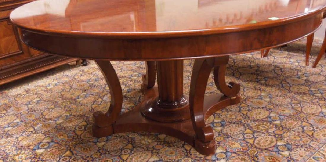 Biedermeier Style Dining Room Table - 2