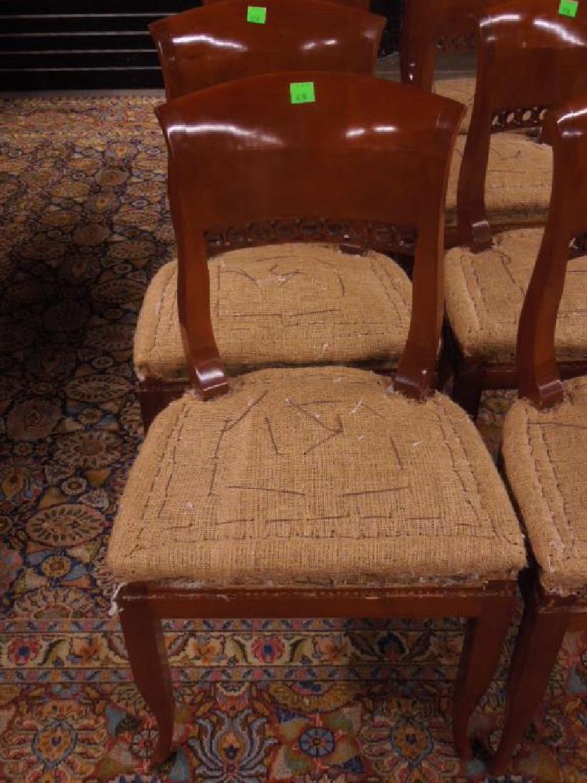 Set 8 Biedermeier Dining Room Chairs - 2
