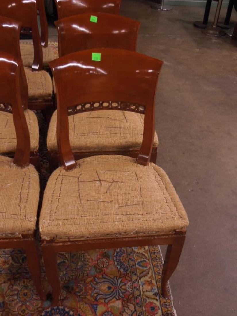 Set 8 Biedermeier Dining Room Chairs - 3