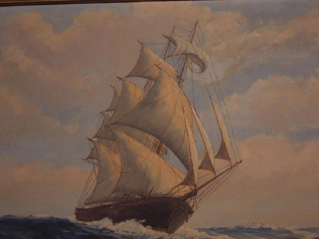 H.H. Howe, o/c, Clipper Ship - 4
