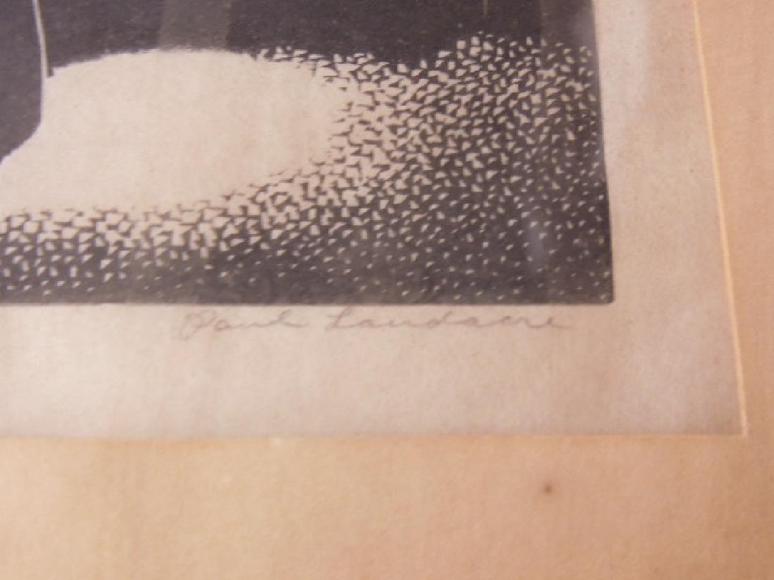 Paul Hildabrand Landaire, Engraving - 3