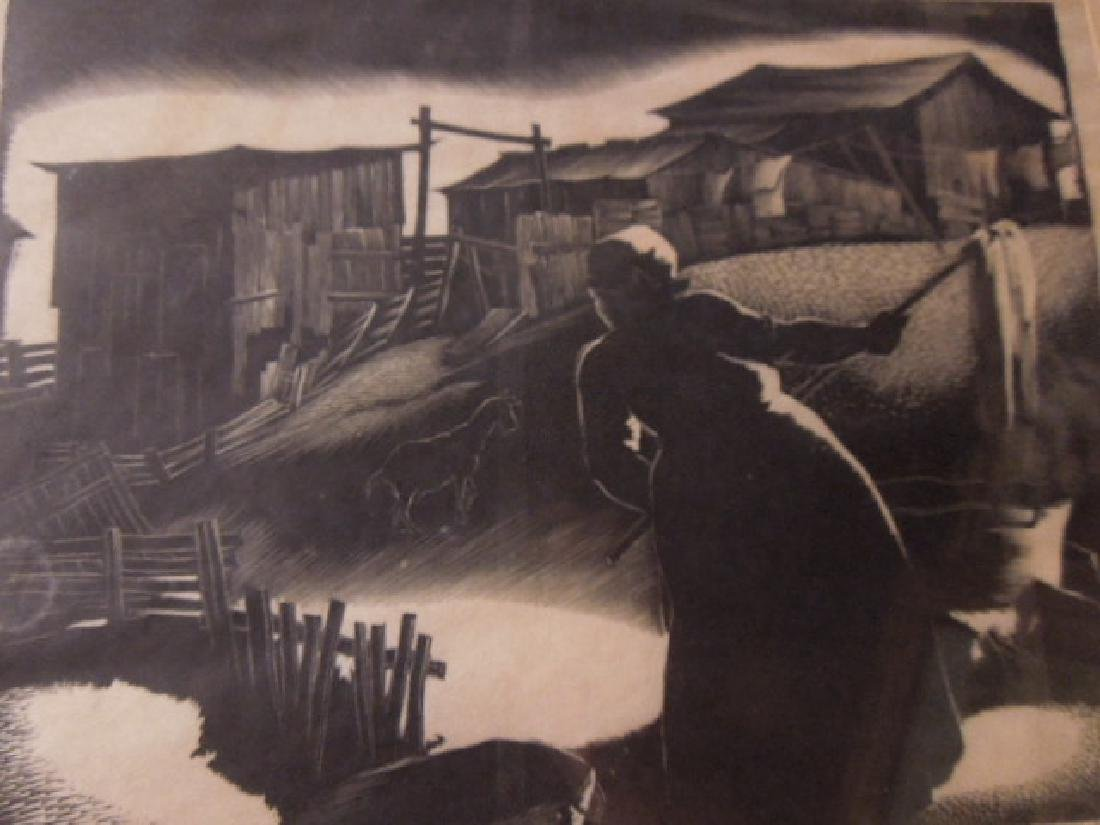 Paul Hildabrand Landaire, Engraving - 8