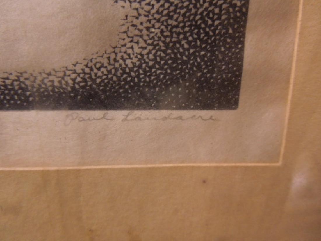 Paul Hildabrand Landaire, Engraving - 9