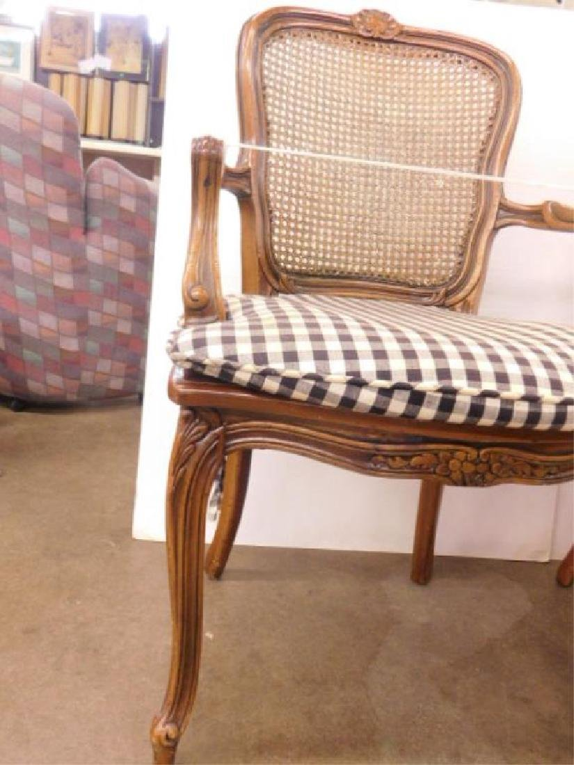 Pr French Provincial Arm Chairs - 5