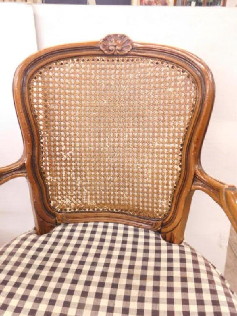 Pr French Provincial Arm Chairs - 6