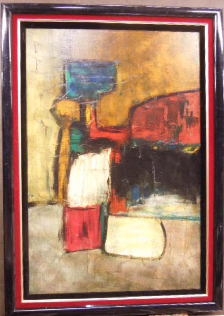 Emila Leiard O/C, Abstract Still Life