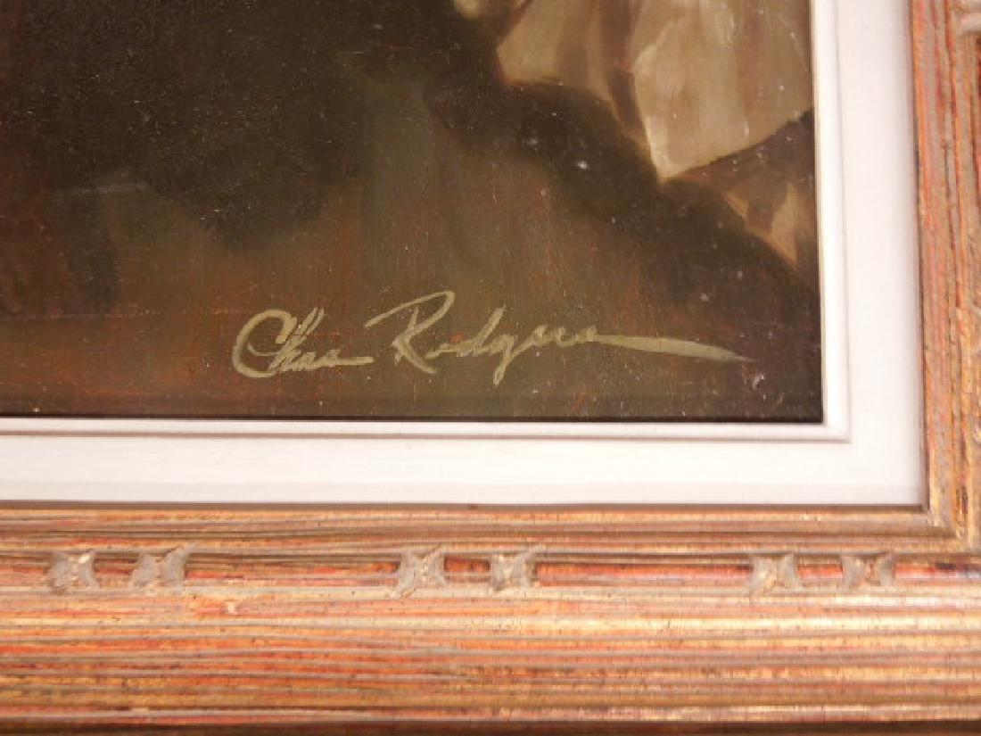 Chas Rogers, Nude Female, Acrylic on Masonite - 3