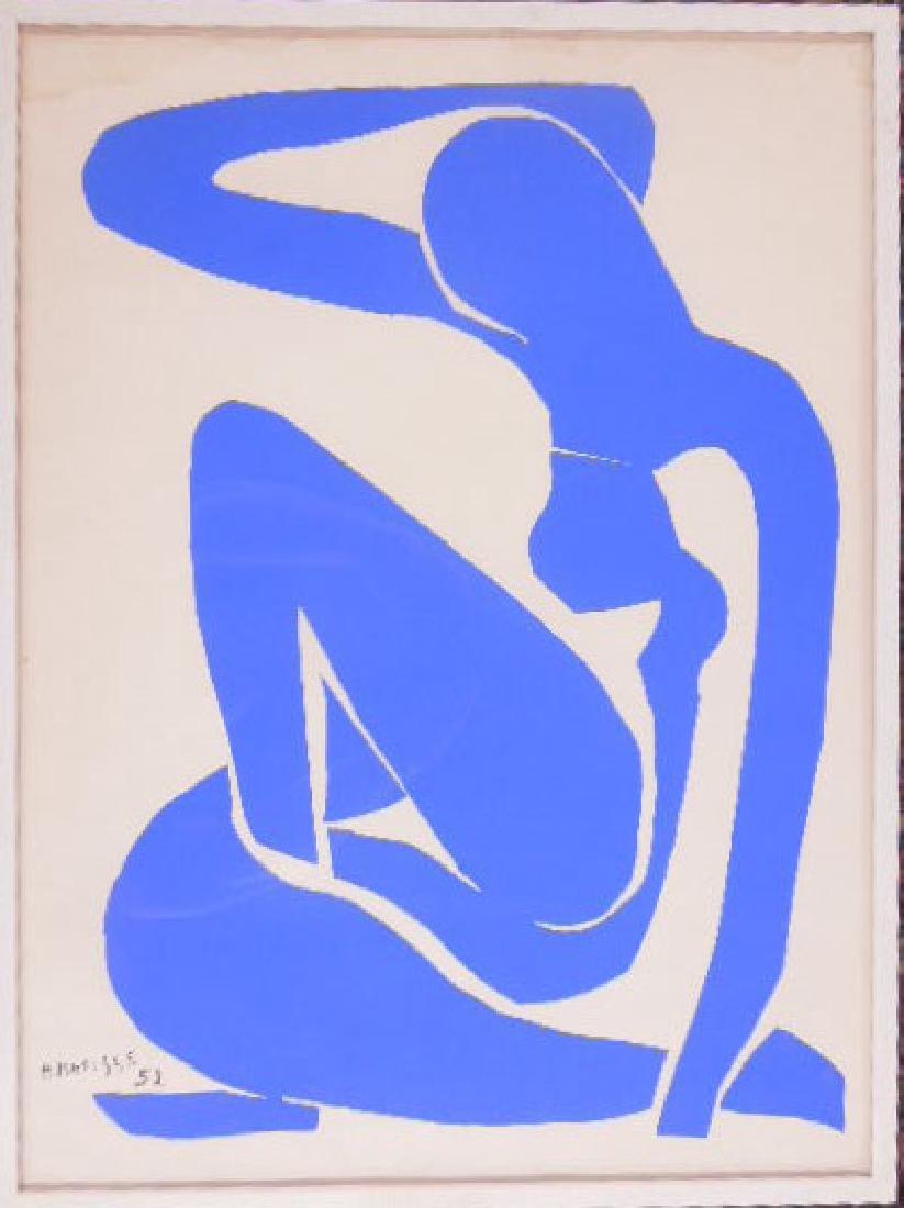 "H. Matisse, Litho, ""Nu Bleu"""