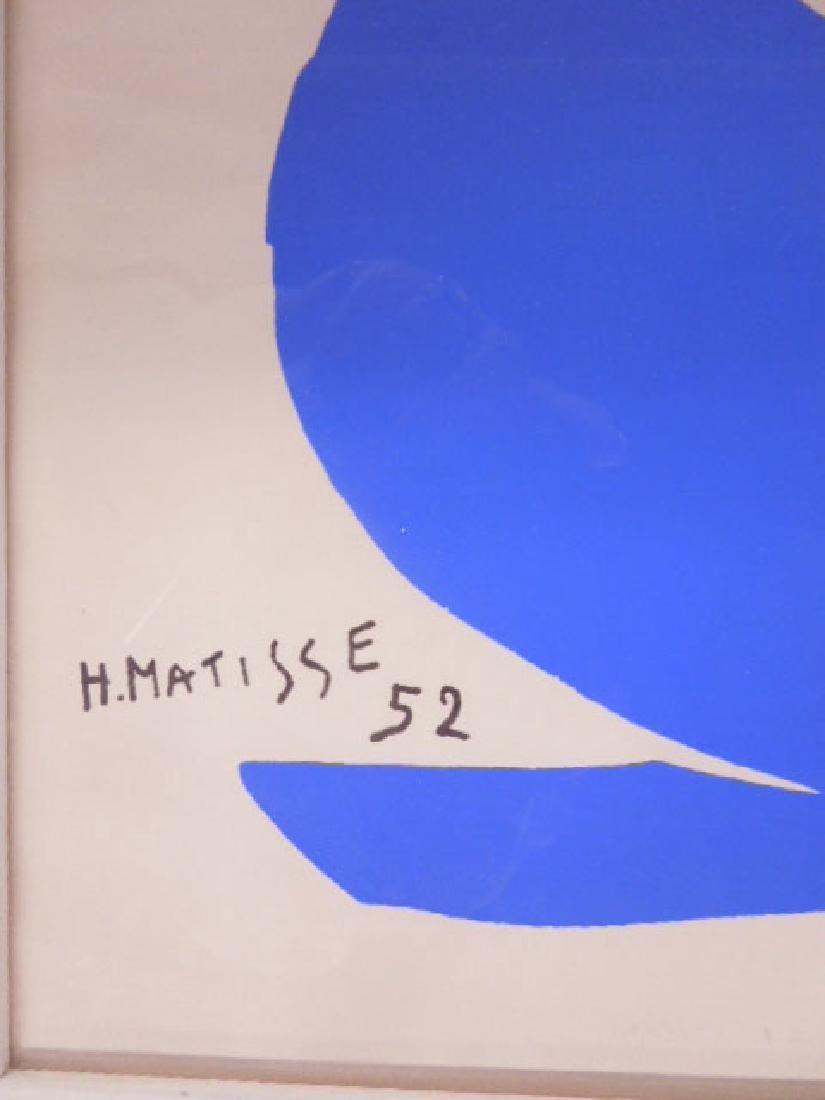 "H. Matisse, Litho, ""Nu Bleu"" - 2"