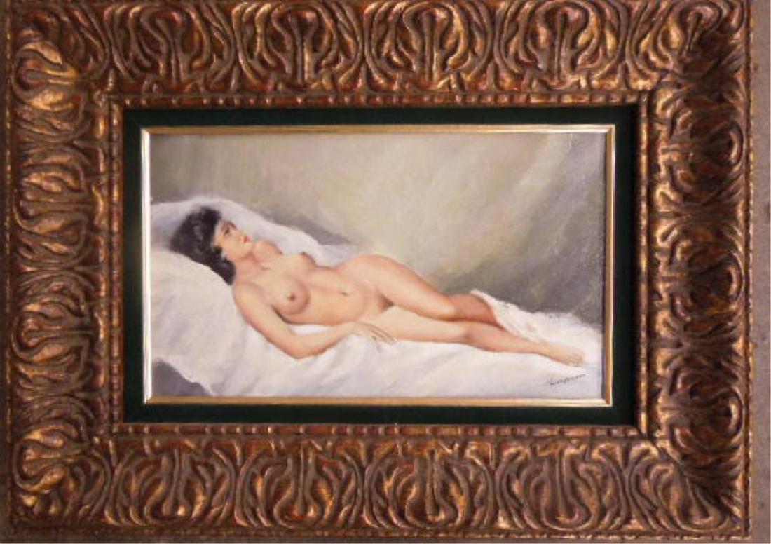 Female Nude o/c
