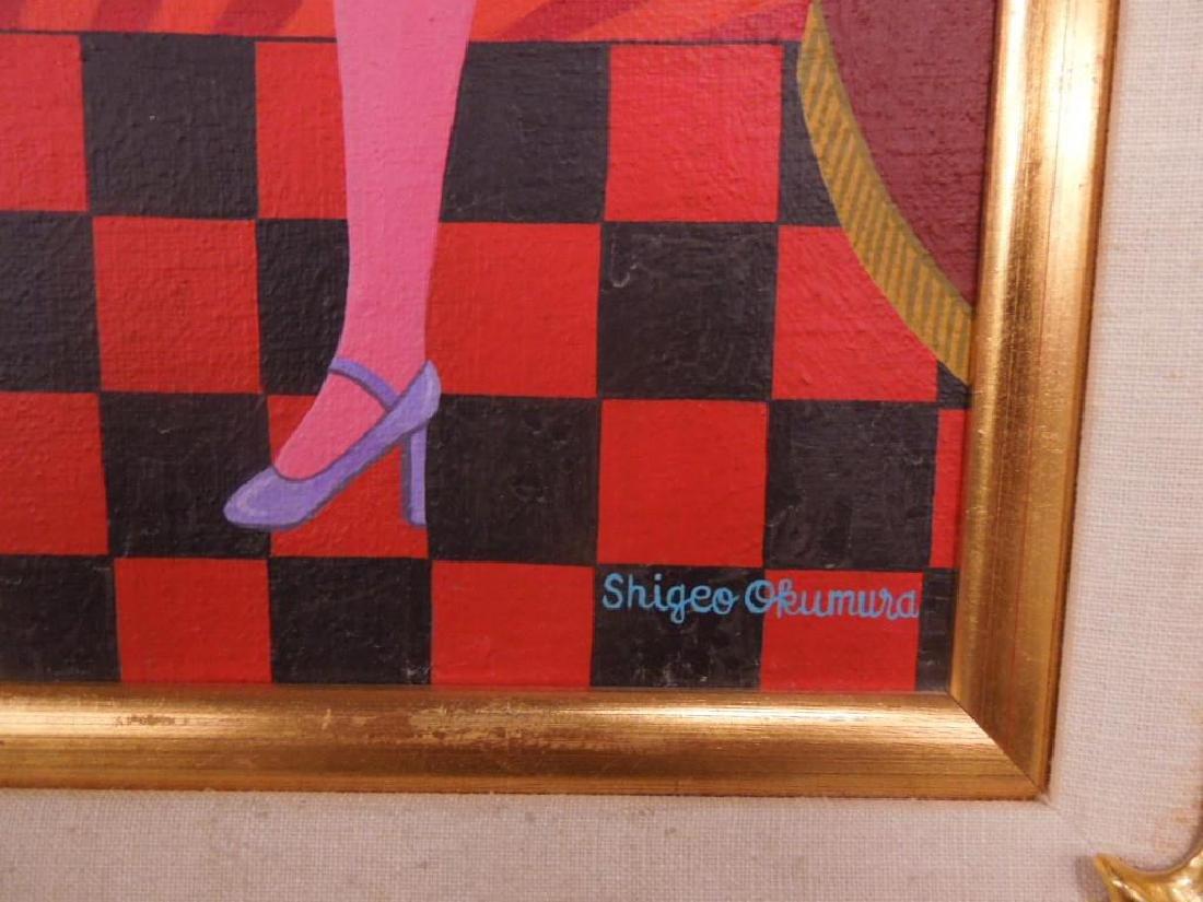 Shigeo Okumura Oil On Canvas - 3