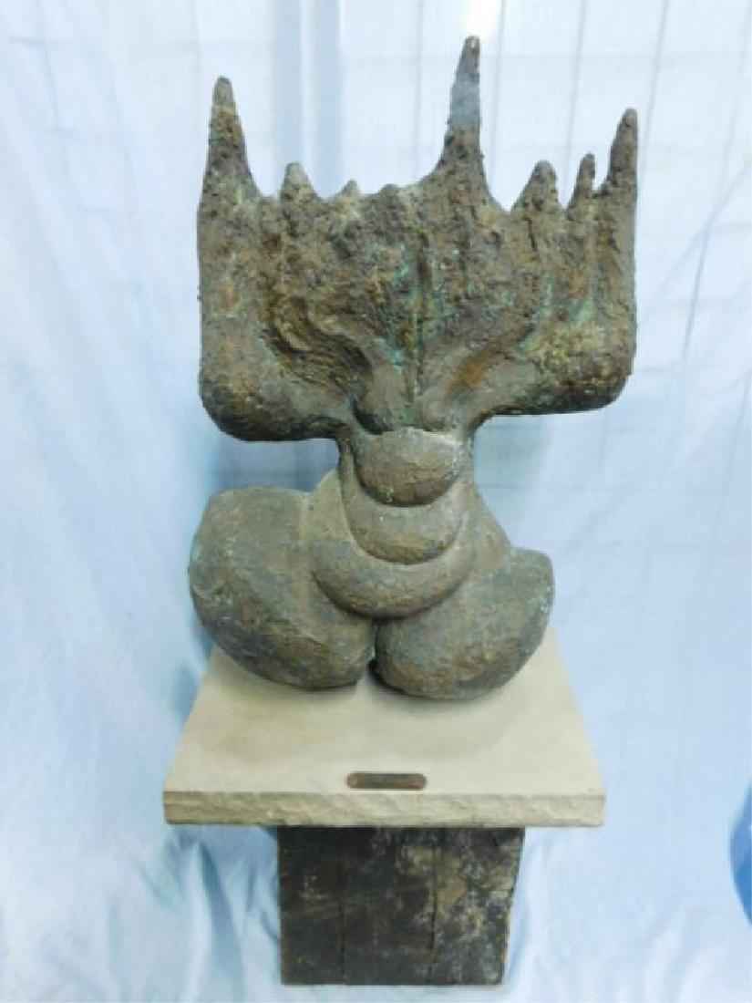 Jacques Lipchitz, bronze, Abstract Menorah - 2