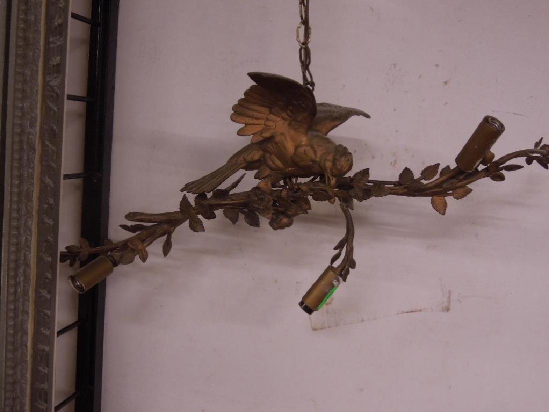 Antique Louis XV Style Bird Chandelier