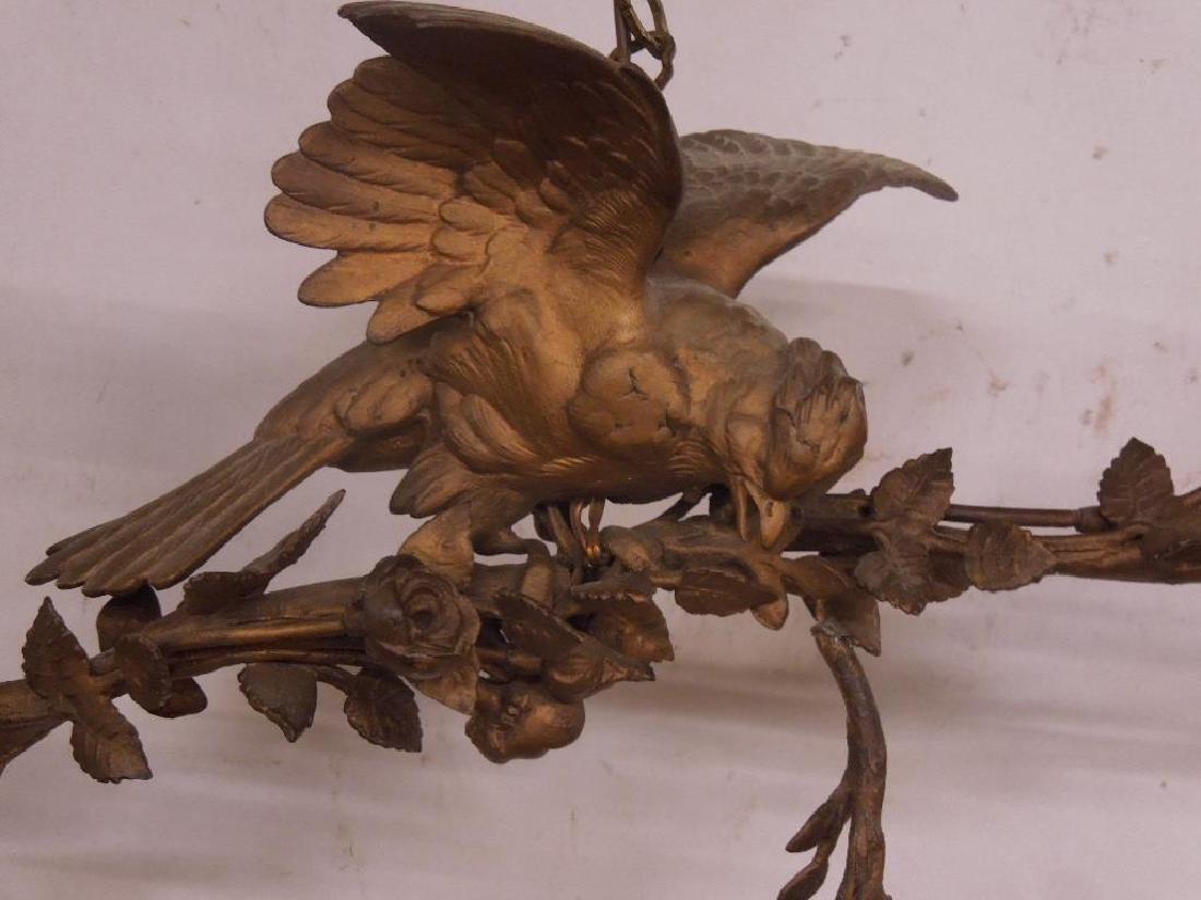 Antique Louis XV Style Bird Chandelier - 2
