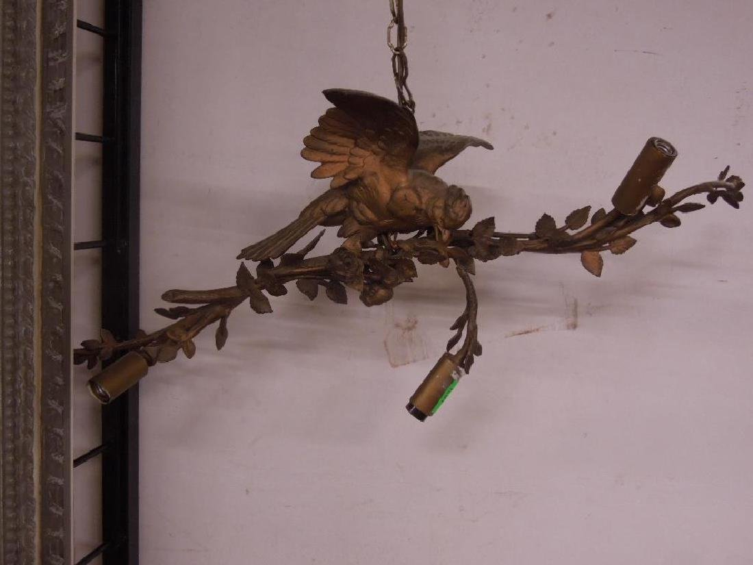 Antique Louis XV Style Bird Chandelier - 4
