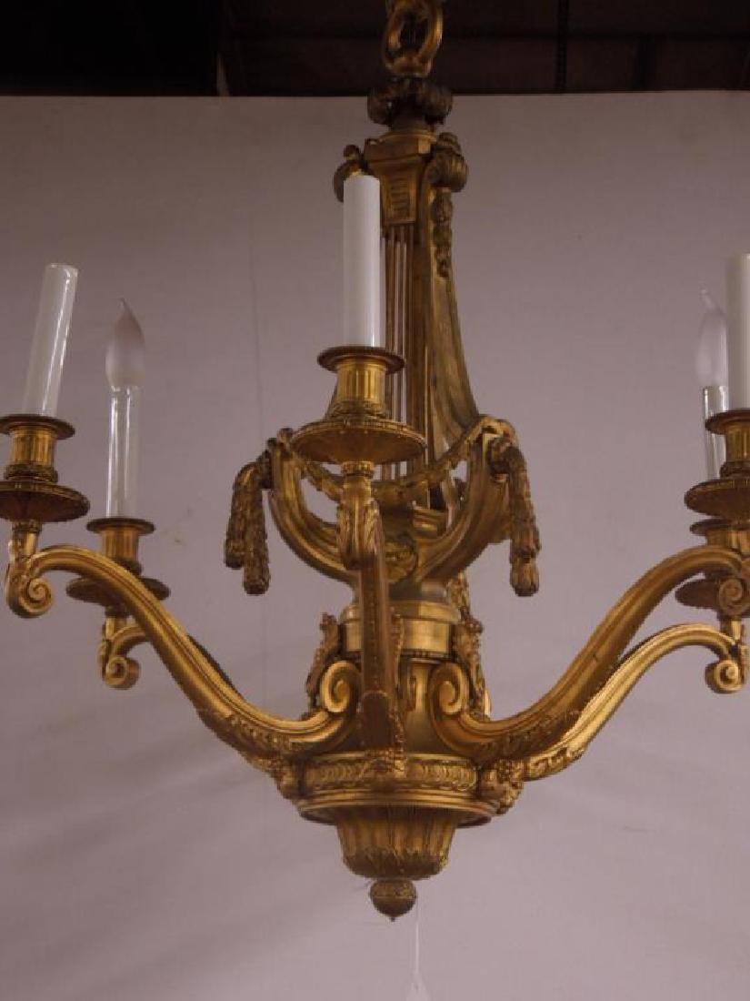 Antique Louis XVI Style Chandelier - 2