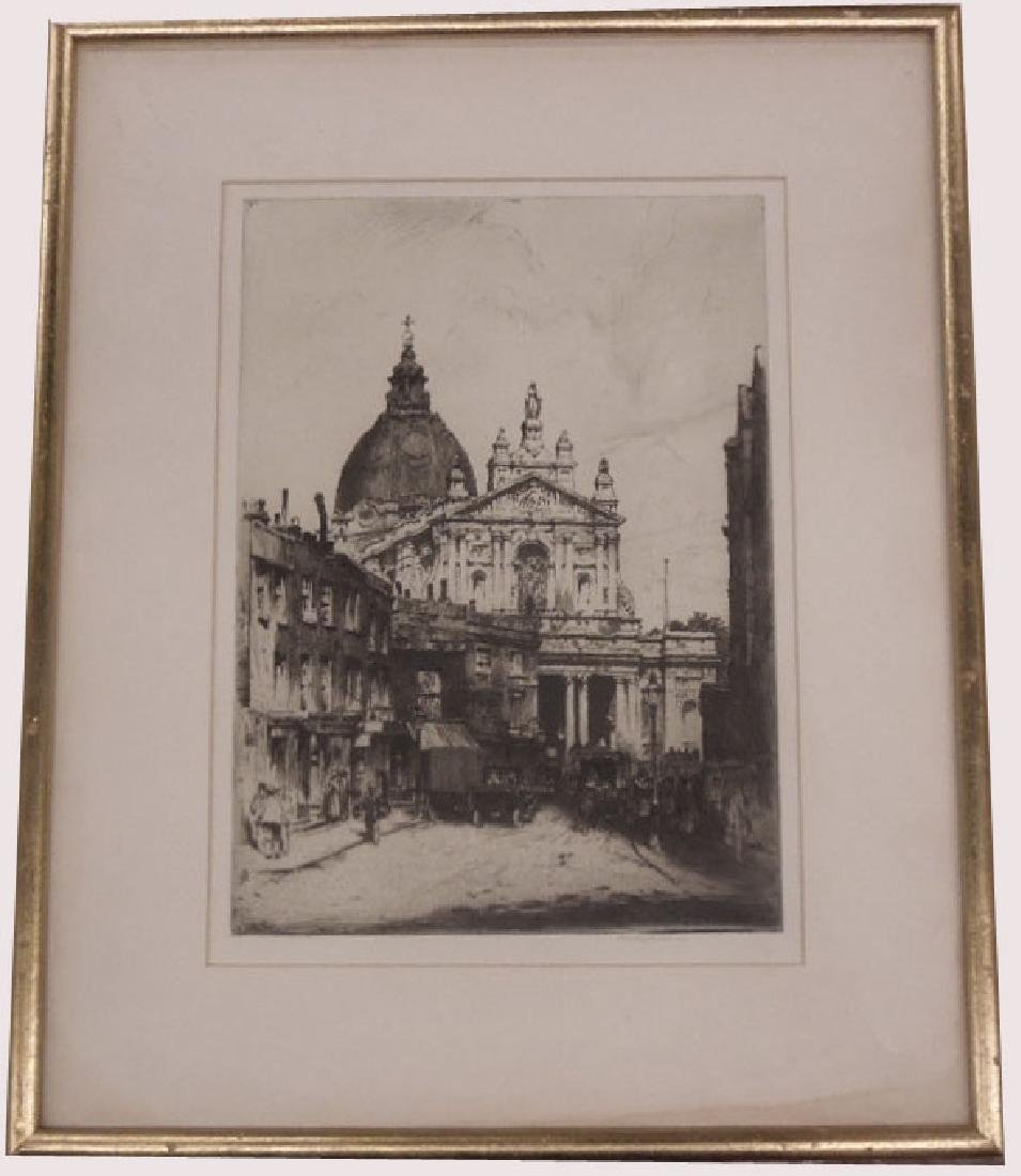 Stanley Anderson Signed Etching