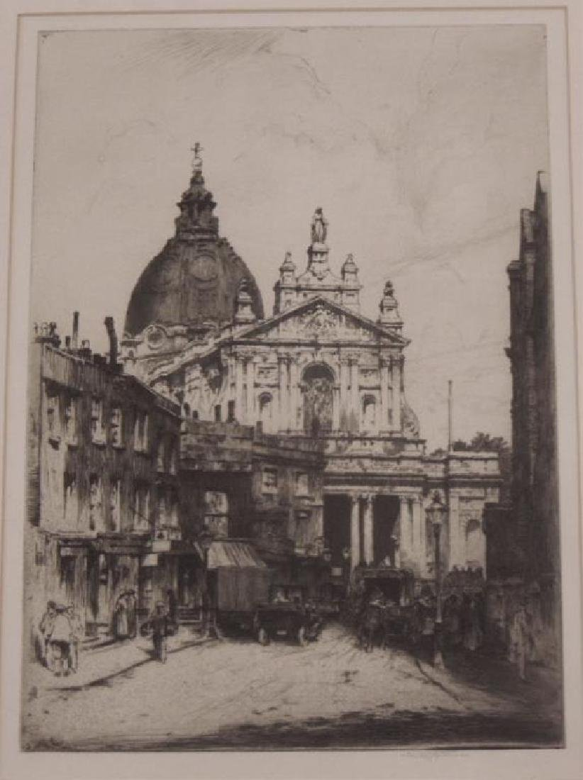 Stanley Anderson Signed Etching - 2
