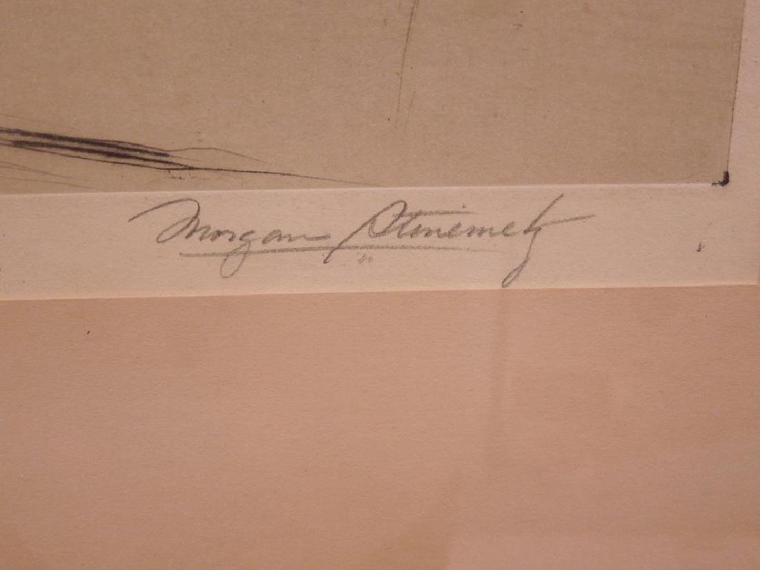 Morgan Steinmetz Signed Etching - 4