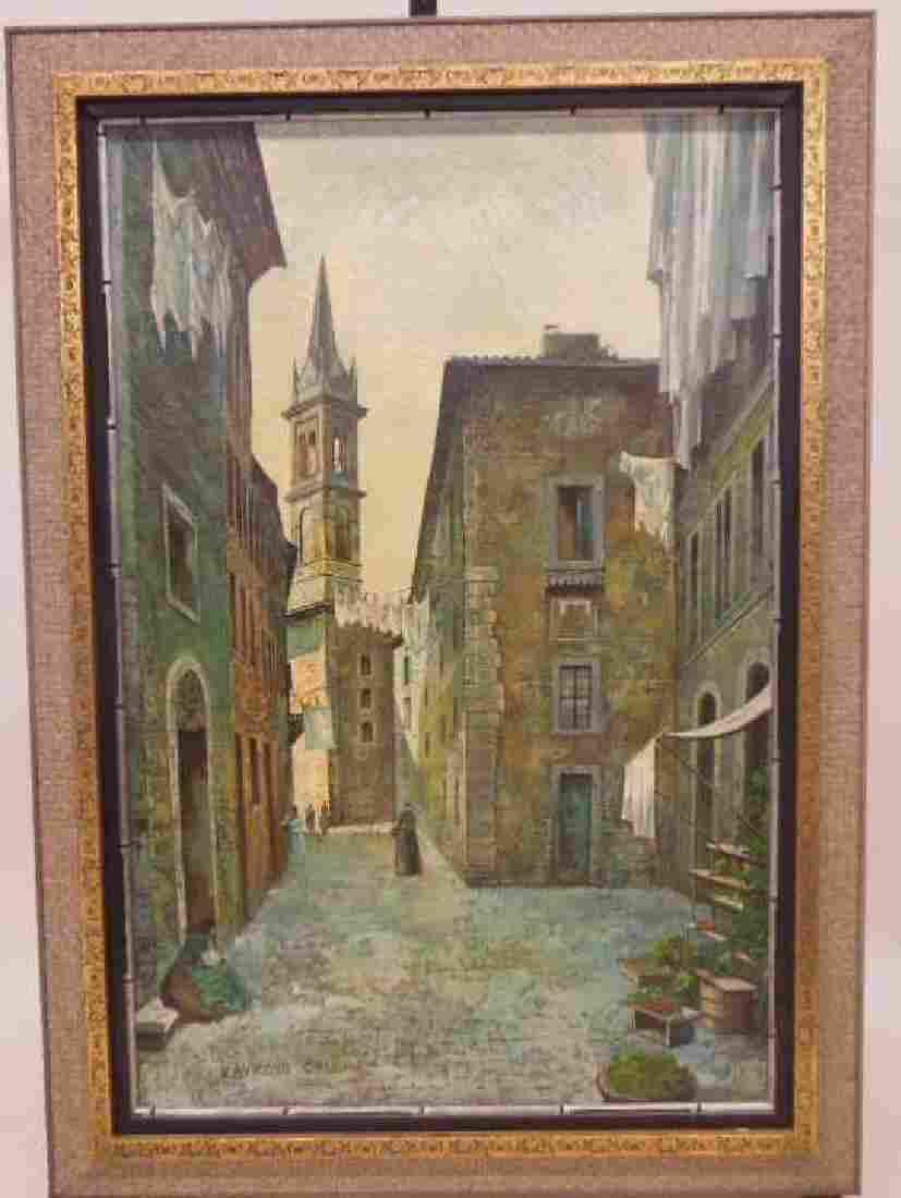 Raymond Call Oil Painting