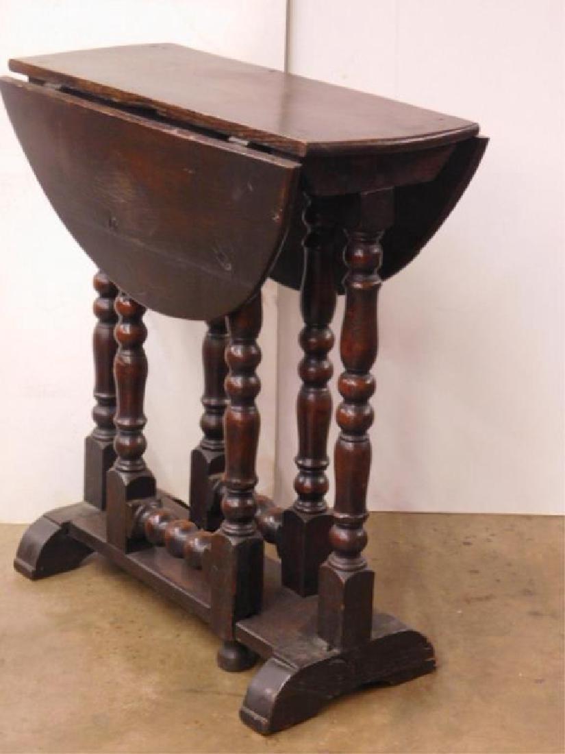 Tudor Style Gate Leg Table