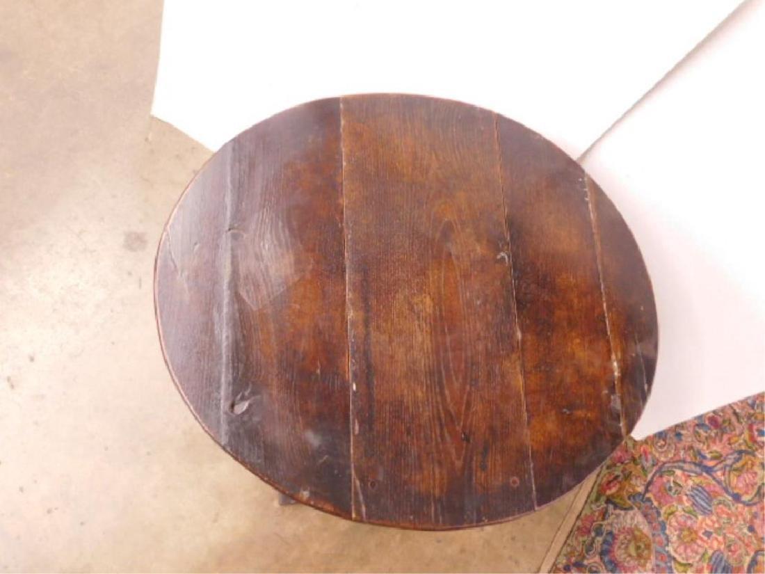 Tudor Style Gate Leg Table - 5