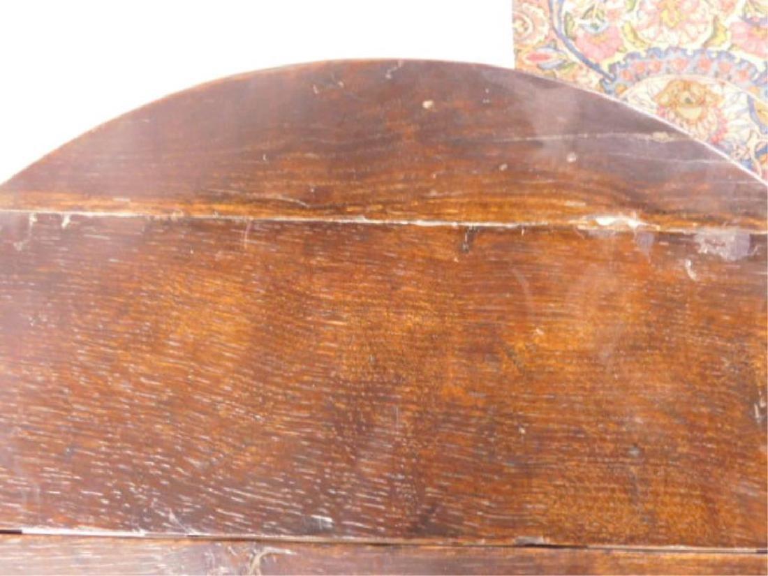 Tudor Style Gate Leg Table - 6