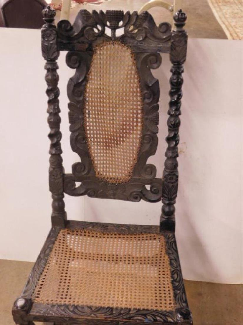 Jacobean Style Side Chair - 2