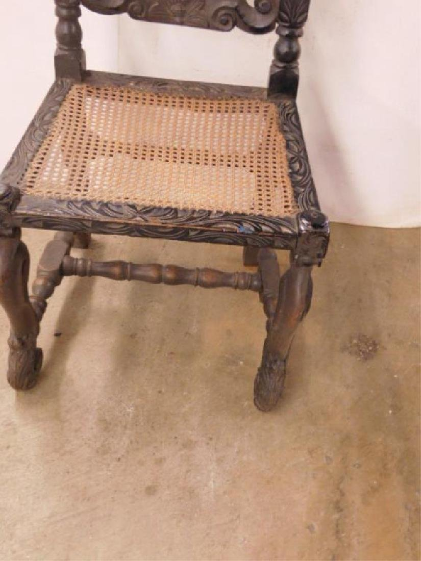 Jacobean Style Side Chair - 3