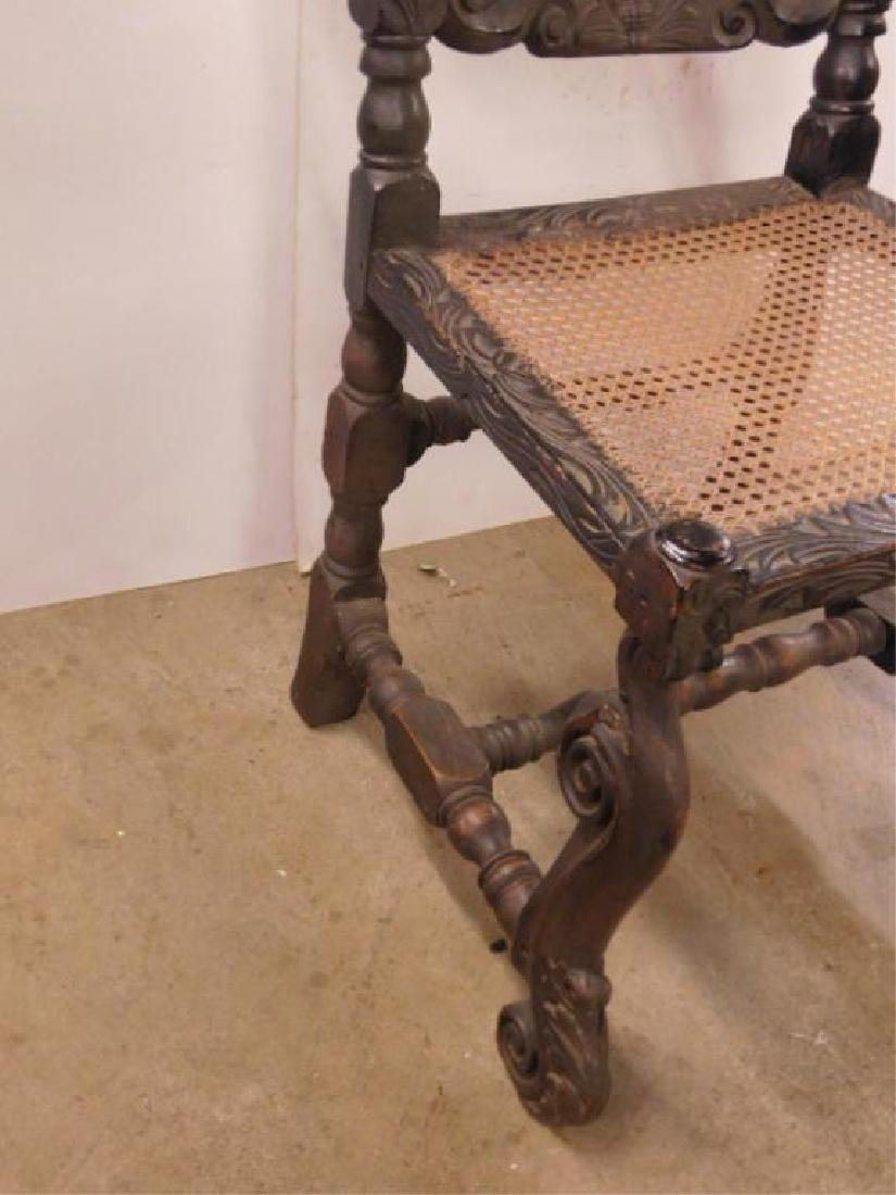 Jacobean Style Side Chair - 4