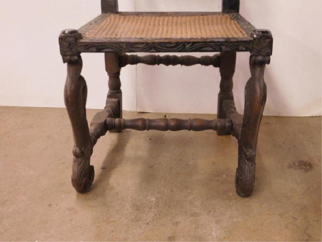 Jacobean Style Side Chair - 5
