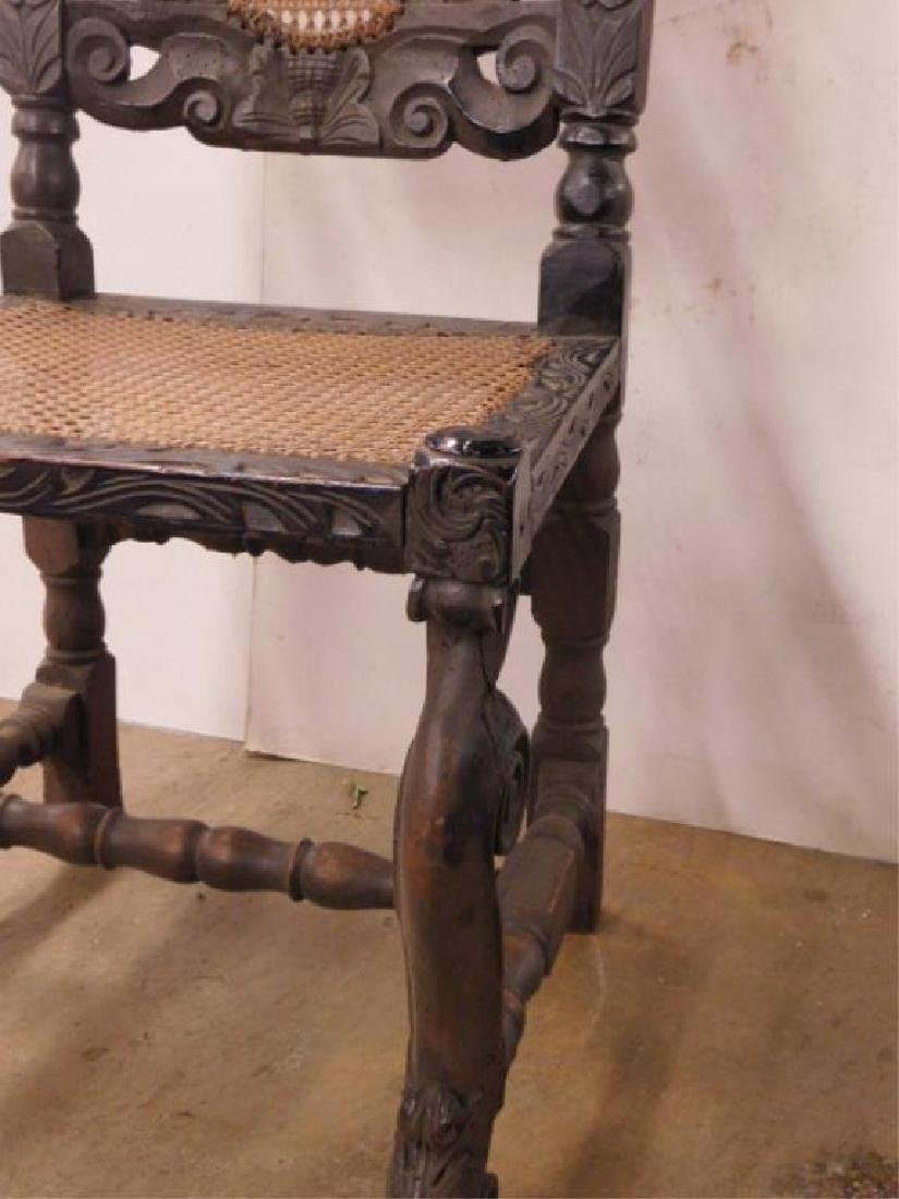 Jacobean Style Side Chair - 6
