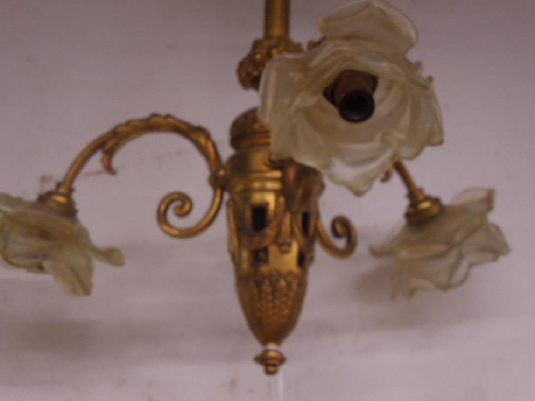 Pair French Style Small Chandeliers - 2