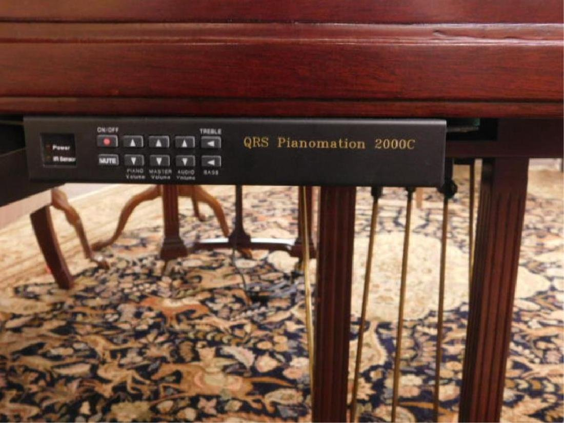 Baby Grand Disc Player Piano & Bench - 4