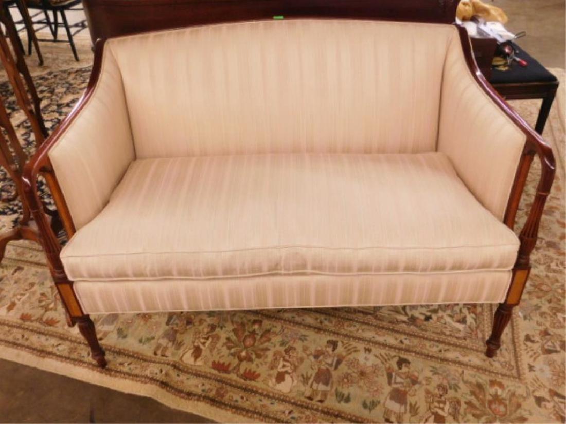Sheraton Style Love Seat