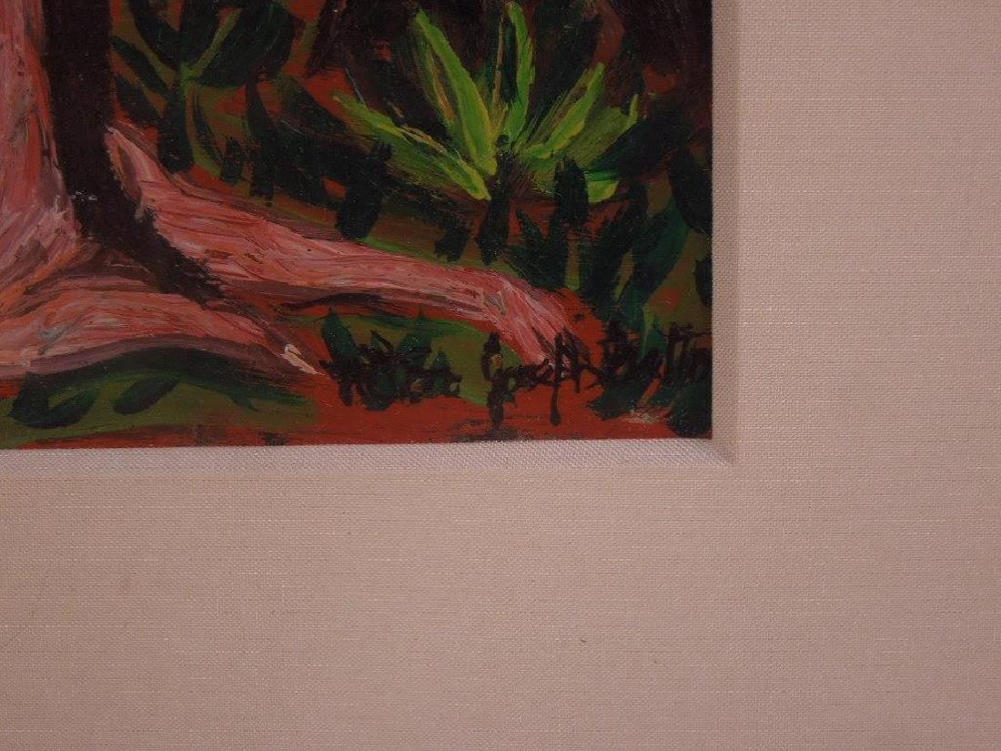 Batten (?), oil, Garden of Eden - 2
