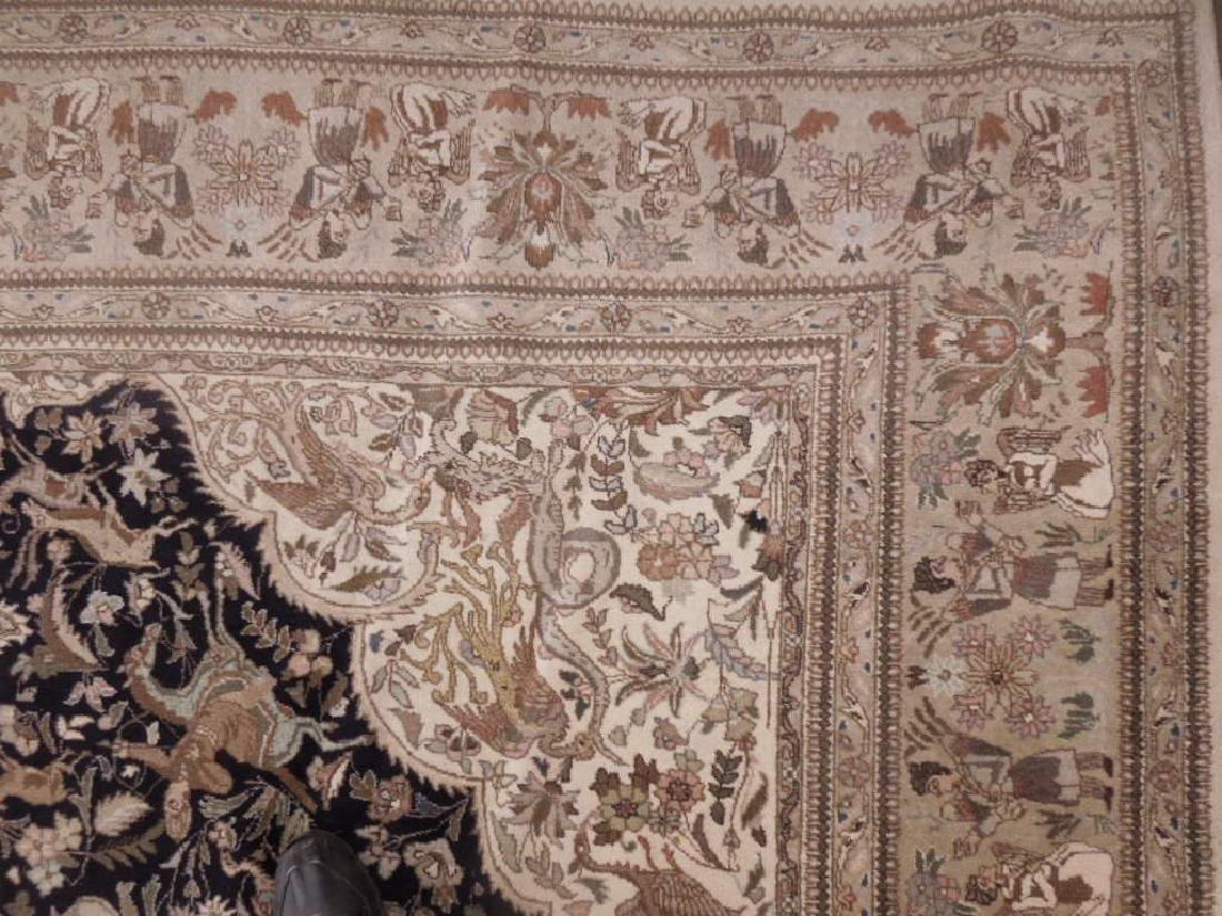Persian Figural Carpet - 3