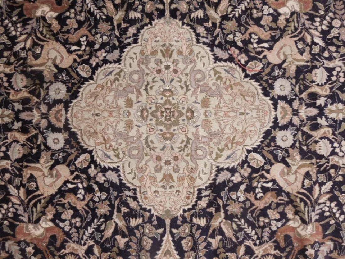 Persian Figural Carpet - 4